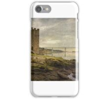 The ancient tower and the new bridge iPhone Case/Skin