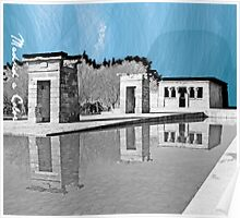 Debod a Color Poster