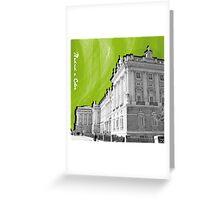 Palacio Real a Color Greeting Card