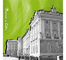 Palacio Real a Color Photographic Print