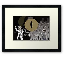 The Corporation Framed Print