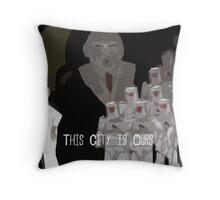 The Corporation nologo Throw Pillow