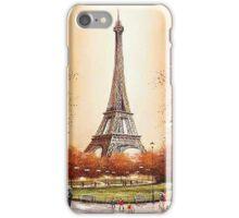 Eiffel Tower Paris France iPhone Case/Skin