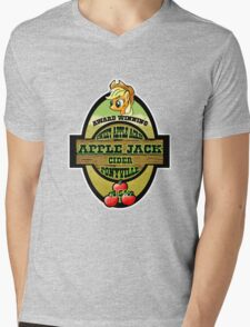 Apple Jack Cider Mens V-Neck T-Shirt