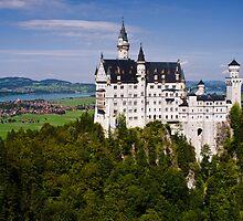 Schloss Neuschwanstein -- South Bavaria by PeachPark