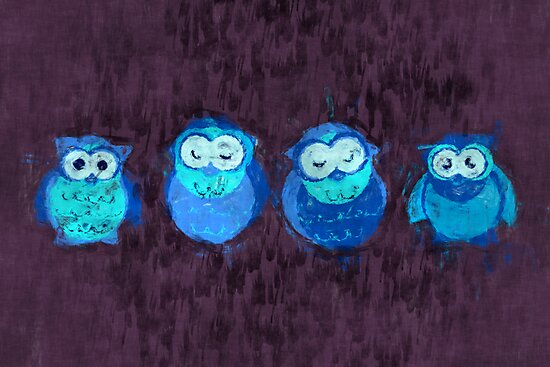 Owl Showers by eppiepeppercorn