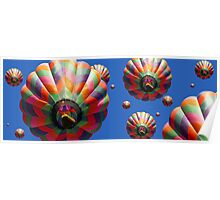 Hot Air Balloons Panoramic Poster