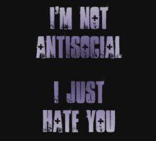 I'm not antisocial by Tusny