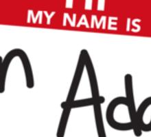 Ken Adams Sticker