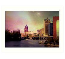 Downtown Milwaukee © Art Print