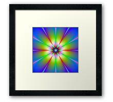 Flower Fractal Framed Print