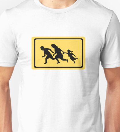 Running Family / Running Immigrants Sign Unisex T-Shirt