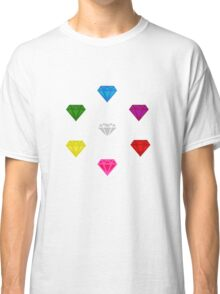 Sonic The Hedgehog Chaos Emeralds Classic T-Shirt