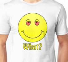Smiley What? Unisex T-Shirt
