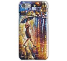 Woman With Umbrella Painting iPhone Case/Skin