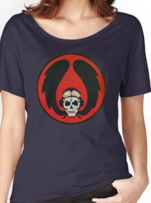 Israeli Air Force Winged Skull Women's Relaxed Fit T-Shirt