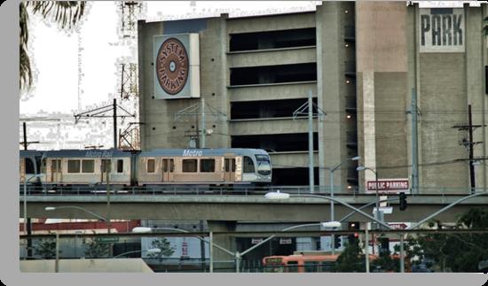 MetroLink entering Los Angeles by Stephen Burke
