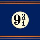 9 3/4 - Blue & Bronze by Serdd