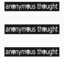 anonymous thought  by derP