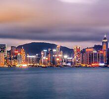 Skyline of Hong Kong VIII by Chopen