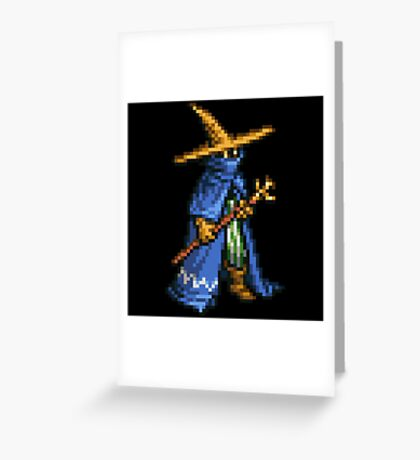 Black Mage boss sprite - FFRK - Final Fantasy Record Keeper Greeting Card