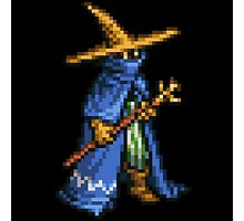 Black Mage boss sprite - FFRK - Final Fantasy Record Keeper Photographic Print