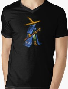 Black Mage boss sprite - FFRK - Final Fantasy Record Keeper Mens V-Neck T-Shirt