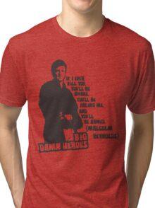 Big Damn Heroes: Mal Tri-blend T-Shirt
