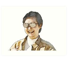 Mr. Chow Art Print