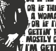 Big Damn Heroes: Jayne Sticker
