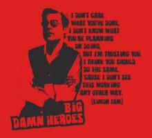 Big Damn Heroes: Simon T-Shirt