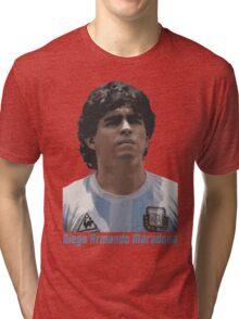 Diego Armando Maradona Tri-blend T-Shirt