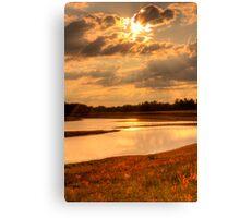 Sunset 5 Canvas Print