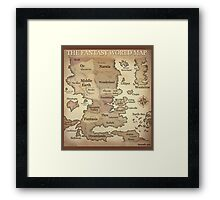 Fantasy Lands Framed Print