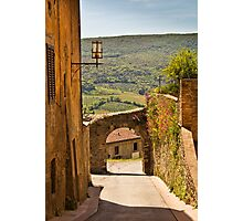 The Edge of Town Photographic Print