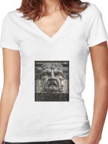 Tragic Fury Women's Fitted V-Neck T-Shirt