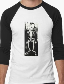 Full On Skeleton Bones Men's Baseball ¾ T-Shirt