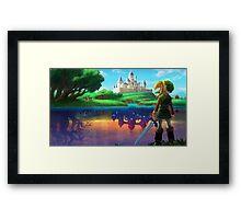 Zelda!! Framed Print