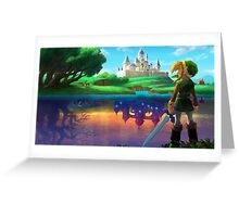 Zelda!! Greeting Card