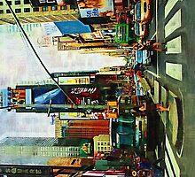 Times Square by Brigitta Frisch