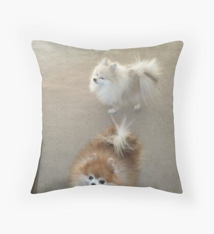 On Their Passing Throw Pillow
