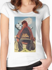 Elephantiasis Women's Fitted Scoop T-Shirt