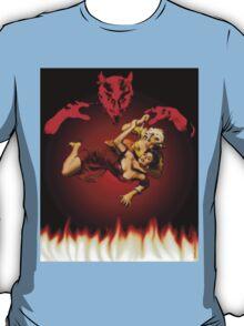 lucha de gato del diablo T-Shirt