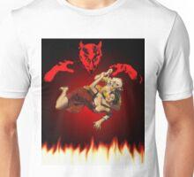 lucha de gato del diablo Unisex T-Shirt