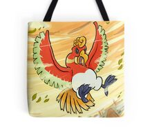 The Fire Bird Tote Bag