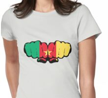 Cameroon! (Standard) Womens Fitted T-Shirt