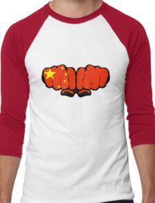 China! (Standard) Men's Baseball ¾ T-Shirt