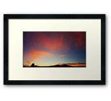 ©HCS Red 33 Pano Framed Print