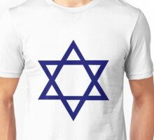 Jewish Star of David Unisex T-Shirt