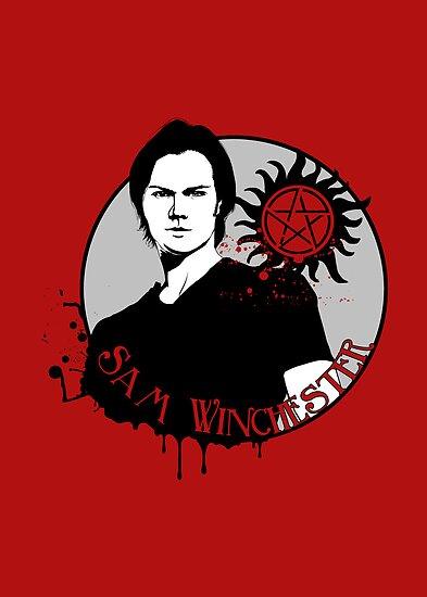 Sam Winchester by KanaHyde